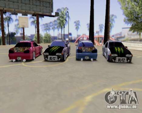 Elegy v2.0 für GTA San Andreas Rückansicht