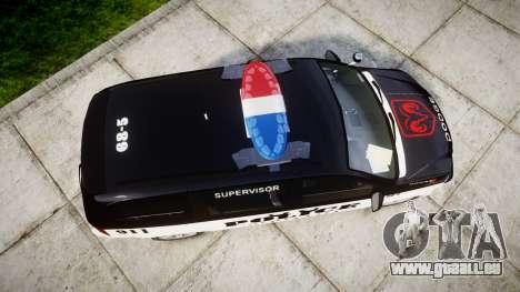 Dodge Grand Caravan LCPD [ELS] für GTA 4 rechte Ansicht