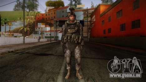 Modern Warfare 2 Skin 5 pour GTA San Andreas