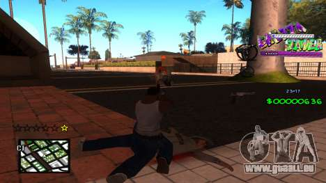 C-HUD Ghetto Tawer für GTA San Andreas zweiten Screenshot