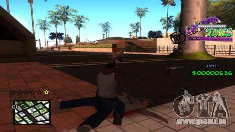 C-HUD Ghetto Tawer pour GTA San Andreas deuxième écran