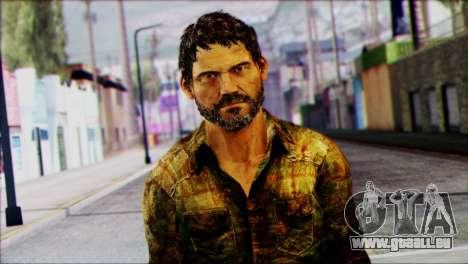 Joel from The Last Of Us für GTA San Andreas dritten Screenshot