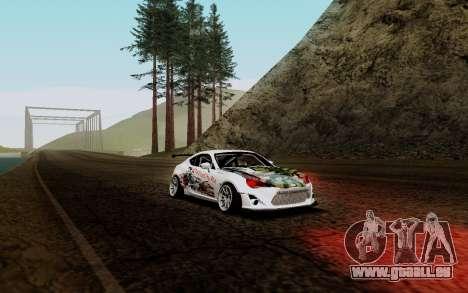 Subaru BRZ VCDT für GTA San Andreas