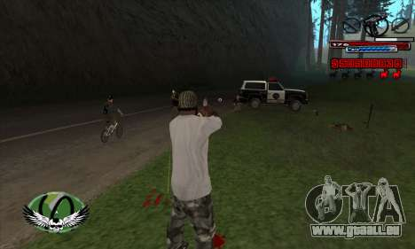 C-HUD by Kir4ik pour GTA San Andreas troisième écran