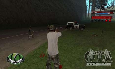 C-HUD by Kir4ik für GTA San Andreas dritten Screenshot
