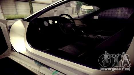 Toyota Supra Street Edition für GTA San Andreas Rückansicht