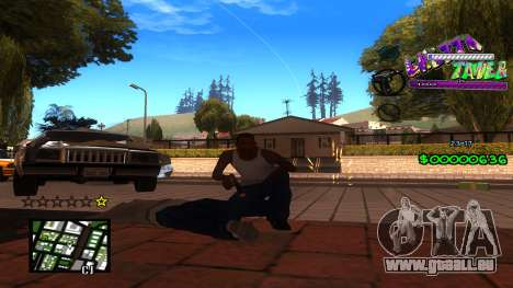 C-HUD Ghetto Tawer für GTA San Andreas dritten Screenshot
