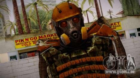 Freedom Exoskeleton pour GTA San Andreas troisième écran