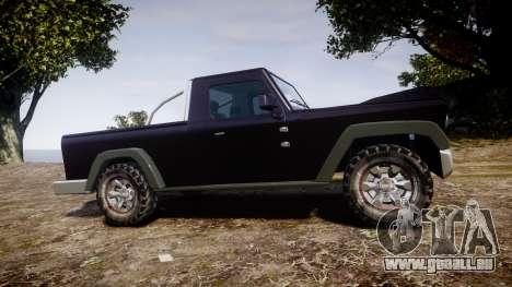 Senran Pioneer Pickup für GTA 4 linke Ansicht