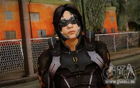 Kei Leng from Mass Effect 3 pour GTA San Andreas troisième écran