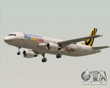 Airbus A320-200 Tigerair Philippines pour GTA San Andreas roue