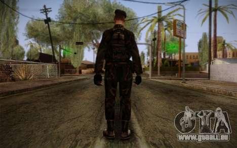 Soldier Skin 2 pour GTA San Andreas deuxième écran