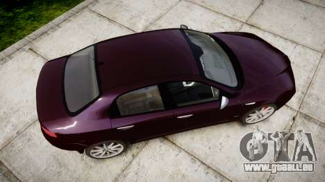 Alfa Romeo 159 TI V6 JTS pour GTA 4 est un droit