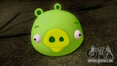 Pig from Angry Birds pour GTA San Andreas troisième écran