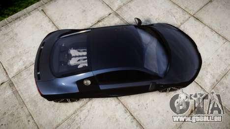 Audi R8 plus 2013 HRE rims pour GTA 4 est un droit