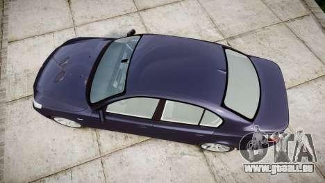 BMW 525d E60 2009 pour GTA 4 est un droit