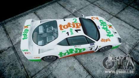 Ferrari F40 1987 [EPM] Jolly Club für GTA 4 rechte Ansicht