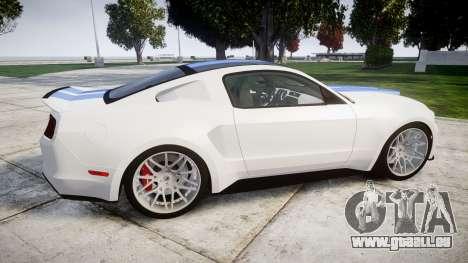 Ford Mustang GT Tobey Marshall für GTA 4 linke Ansicht
