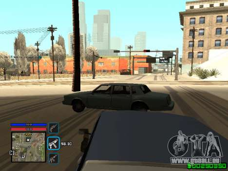 C-HUD Only Ghetto für GTA San Andreas fünften Screenshot