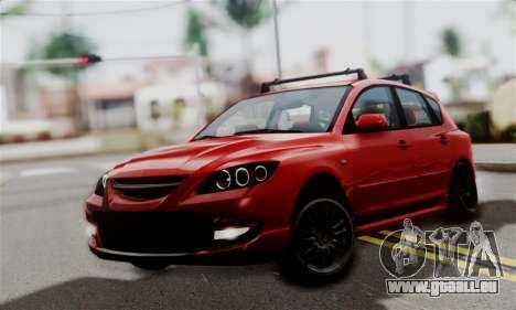 Mazda 3 MPS pour GTA San Andreas