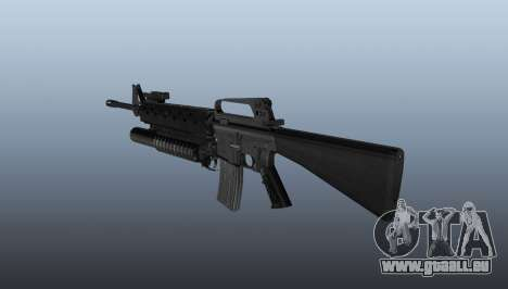 Gewehr M16A2 M203 sight1 für GTA 4 Sekunden Bildschirm