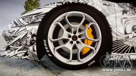 Lamborghini Huracan LP610-4 2015 Sharpie für GTA 4 Rückansicht