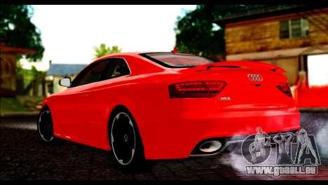 Audi RS5 Coupe pour GTA San Andreas laissé vue
