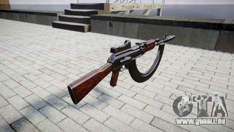 Die AK-47-Kollimator. Die Schnauze und die HICAP für GTA 4 Sekunden Bildschirm