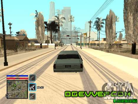 C-HUD Only Ghetto pour GTA San Andreas