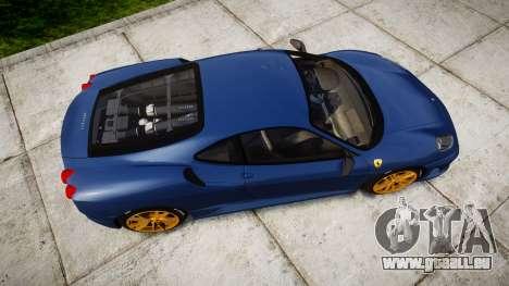Ferrari F430 Scuderia 2007 plate Scuderia pour GTA 4 est un droit
