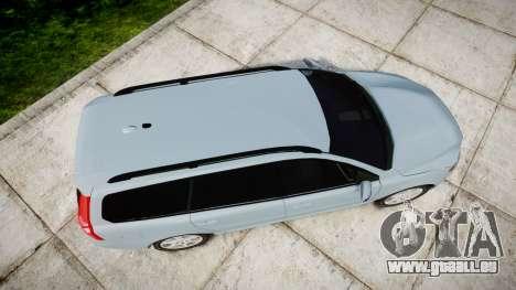 Volvo V70 2014 Swedish Police [ELS] Unmarked pour GTA 4 est un droit