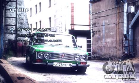 Menu Voitures Russes pour GTA San Andreas troisième écran