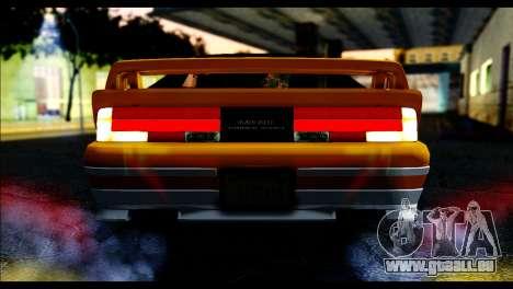 GTA 5 Ruiner Tuning pour GTA San Andreas vue de droite