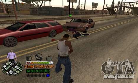 C-HUD СМИ FÜR IMMER für GTA San Andreas her Screenshot