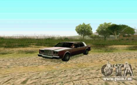 ENB pour les moyennes et faibles PC pour GTA San Andreas troisième écran