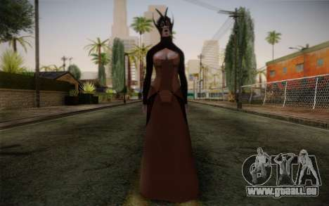 Benezia Beta Final from Mass Effect pour GTA San Andreas