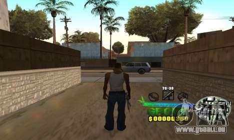 C-HUD Groove Street für GTA San Andreas
