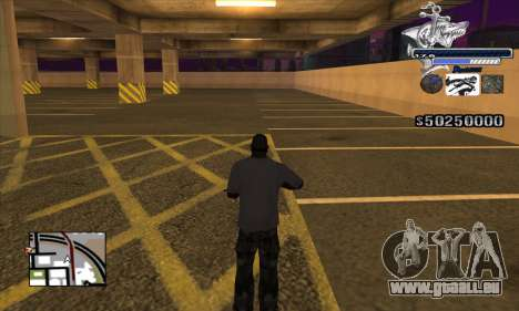 C-HUD Shark für GTA San Andreas dritten Screenshot