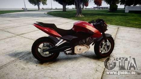 Bajaj Pulsar 200NS Custom pour GTA 4 est une gauche