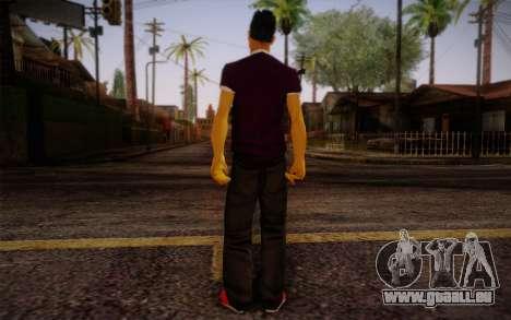 Ginos Ped 28 pour GTA San Andreas deuxième écran