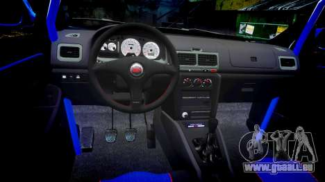 Subaru Impreza WRC 1998 v4.0 World Rally pour GTA 4 Vue arrière