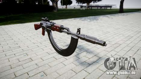 Die AK-47-Kollimator. Die Schnauze und die HICAP für GTA 4