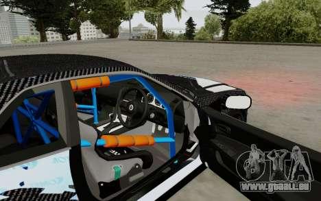 Nissan Skyline GT-R 34 Toyo Tires für GTA San Andreas Rückansicht