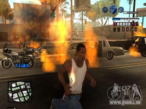 C-HUD Fantastik pour GTA San Andreas sixième écran