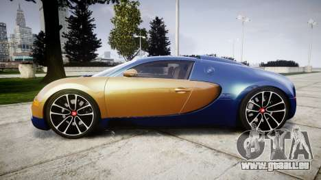 Bugatti Veyron 16.4 v2.0 pour GTA 4 est une gauche