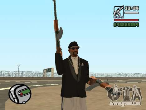 La double propriété de toutes les armes pour GTA San Andreas