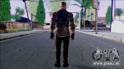 Outlast Skin 2 pour GTA San Andreas deuxième écran