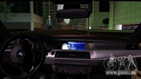 BMW M5 F10 2012 für GTA San Andreas rechten Ansicht