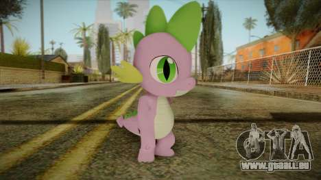 Spike from My Little Pony pour GTA San Andreas
