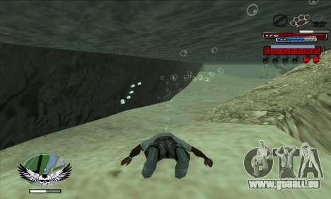 C-HUD by Kir4ik pour GTA San Andreas deuxième écran